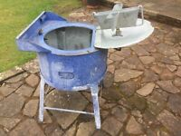 Old manual washing machine 'the COTTO rapid washer
