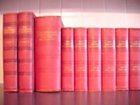 Complete set of 6 Encyclopedia's, also 3 more books