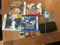 Nintendo 3ds with pokemon games and others
