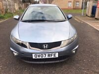 2007 Honda Civic 1.8 i-VTEC EX 5dr Manual @07445775115