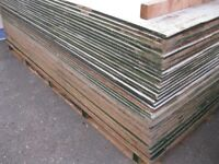 Second Hand 8'x4' 18mm Ply for sale £12 per sheet 01895239607