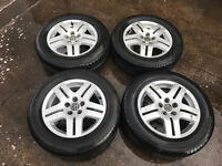 VW Avus 2 15'' alloys Golf GTI Bora Beetle set of 16'' 195/65/15 tyres 5x100