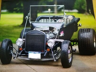 1923 Ford Model T  1923 Ford Model T Bucket Custom One-Off RAT ROD Old School 1969 Corvette 327