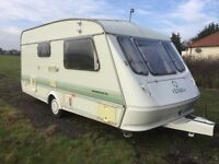 Elddis Two Birth Touring Caravan, Choice of Three, £1000 to £2500