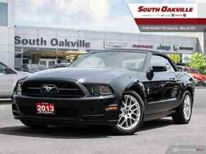 2013 Ford Mustang PREMIUM CONVERTIBLE   LEATHER INTERIOR