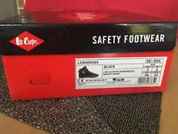 Lee Cooper Black Workwear Safety Boots
