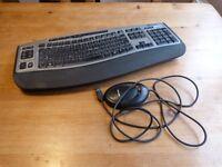 Microsoft wireless keyboard and dongle