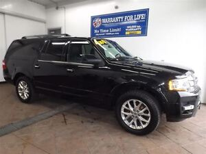 2015 Ford Expedition Max LIMITED 4X4 LEATHER NAV SUNROOF 20'S 8  Kitchener / Waterloo Kitchener Area image 1