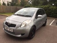 2007 Toyota Yaris 1.3 VVT-i Zinc ... low mileage+service history+parking sensors+brand new tyres