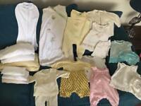 Newborn Essentials Bundle Clothes & Bedding