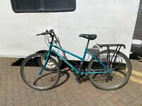 Raleigh ladies bike with accessories