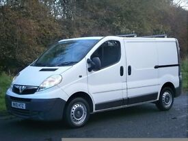 2010(10) VAUXHALL VIVARO 2700 CDTI SWB, ONE OWNER, FSH, IMMACULATE CONDITION, NO VAT!!