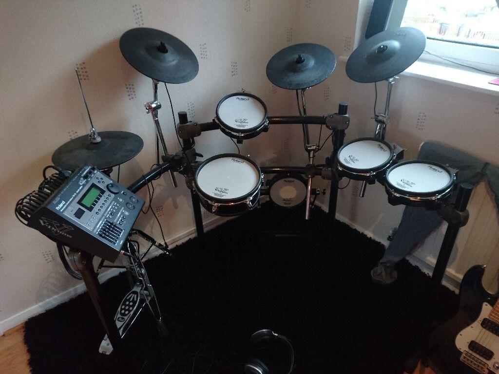 ce3aac80ff07 Roland TD12-KV electronic drum kit V-drums