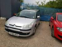 06 PLATE CITROEN C4. 1.6 HDI TURBO DIESEL. PX TO CLEAR