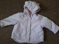 baby girl coat 3-6