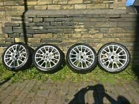 BMW 18 inch CSL ALLOYS WITH Avon Z5 tyres
