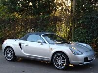 Toyota MR2 1.8 VVT-i Roadster 2dr Convertible - 54,000 MILES - FULL RED LEATHER