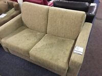 Light Brown Fabric Sofa Bed