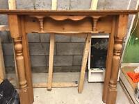 Oak Fire Surround/fireplace