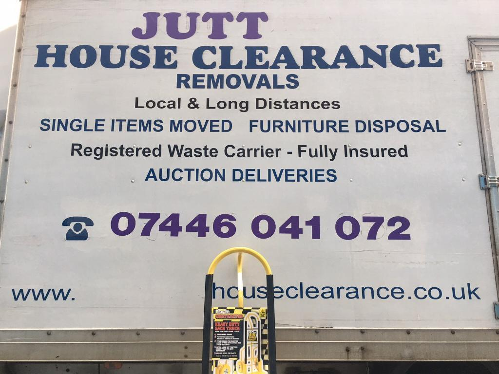 JUTT HOUSE CLEARANCE &REMOVALS LOCAL &LONG DISTANCE