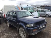 Mitsubishi challenger 2. 5 te diesel manual spare parts available.
