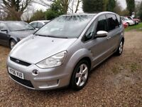 Ford S-Max Diesel 2.0 TDCi Titanium 7 Seater, 2 Keys,Service history,Comes with a new 12 months MOT