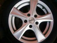 "T5 16""alloys & tyres"