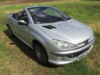Peugeot 206CC Allure 2.0 Petrol, 12 Months MOT, Mint Condition