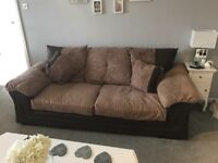 Two 2/3 seater sofas