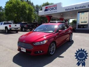 2015 Ford Fusion Titanium 5 Passenger All Wheel Drive, 2.0L Gas