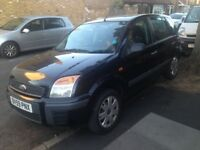 59 REG FORD FUSION 1.4 AUTO FSH ONE OWNER like fiesta clio punto yaris jazz civic micra polo c3 207