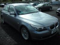 BMW 5 SERIES 2.0 520D SE 4d 161 BHP (grey) 2006