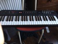 Carillon 49 midi keyboard with cable