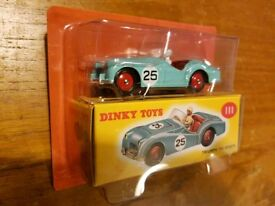 Triumph TR2 Dinky Toy number 111 reproduction