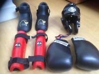 Kicking boxing gear