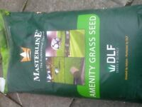 20kg sacks of grass seed one left