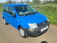 Fiat Panda 1.1 5door in Blue with 88000 miles and mot until March 2019