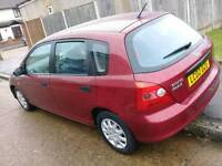 HONDA civic 2002 1 year MOT Good Conditions part exchange welcome recently service done