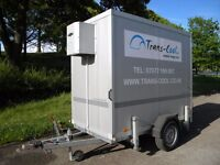 Humbaur Refrigerated Trailer (Chill) - Perfect for the summer hire season!