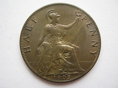 1905 Halfpenny, A UNC.
