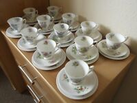 Royal Albert Flowers of the Month - tea set for 12 settings - £140