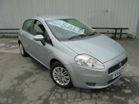 FIAT PUNTO 5 DOOR GREY EXCLLENT CONDITION 2006 CHEAP INSURANCE