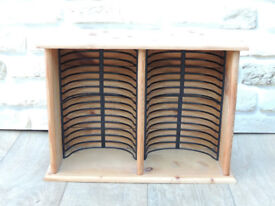 Pine dvd rack / small / suitable for table use (Delivery)