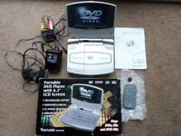 "Venturer Portable DVD Player 6.2"" Widescreen Rechargeable"