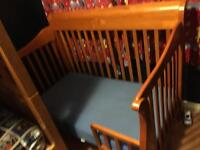 Bily 'Sydney' 4 in 1 convertible crib with mattress $195