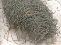 ANIMALE FENCING 3 ROLLS IDEAL FOR HENS AND MORE £30 PER ROLL