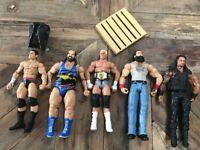 WWE Figure and Accessory Bundle