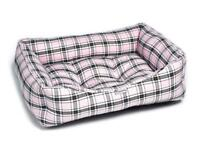 Brand New Pink Tartan Luxury Sofa Dog Beds - Large ‼️NOW ONLY £28‼️