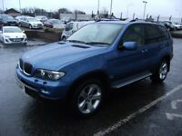 2005 05 BMW X5 3.0 D SPORT 5D AUTO 215 BHP ***** GUARANTEED FINANCE **** PART EX WELCOME ****