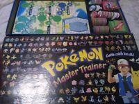 Pokemon Master Trainer Board Game - Complete